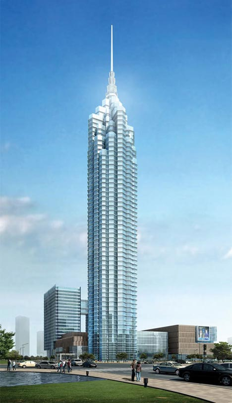 Top Ten Tallest Skyscrapers Completing In 2013