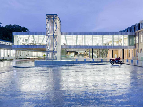 Milstein Hall, Cornell University by OMA and KHA Architects