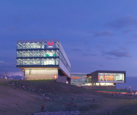 dezeen Adobe Utah campus by Rapt Studio 3 Adobe Office  by Rapt Studio   Utah