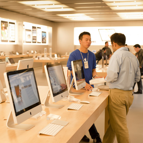 "Apple trademarks ""distinctive design"" of its stores"