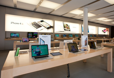 Apple trademarks store design, photo by Shutterstock