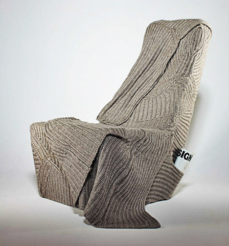 Autumn/winter seat by Aga Brzostek