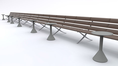 B Bench by Konstantin Grcic