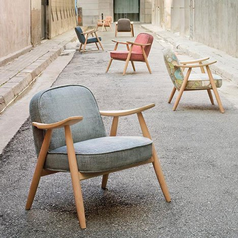 Basic Armchair by Lagranja Design