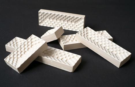 Berlin stove tiles by Daniel Becker Design Studio