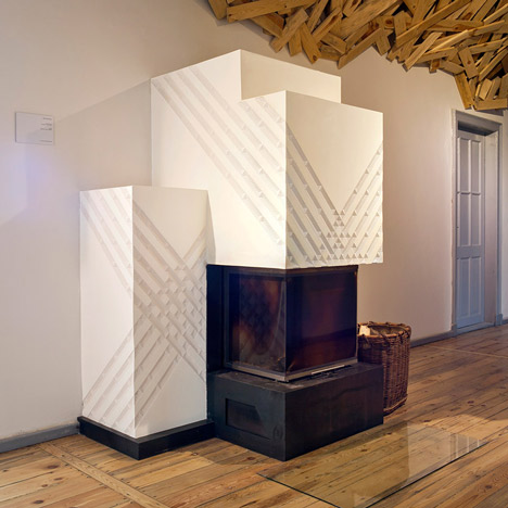 Berlin stove tiles by Daniel Becker Design Studio