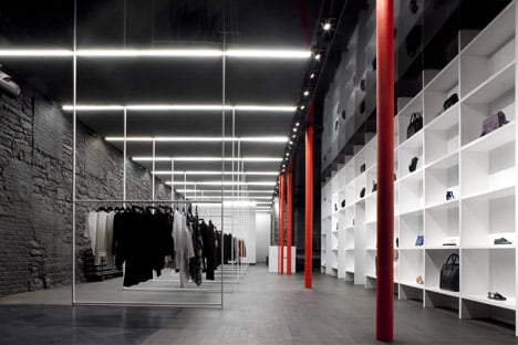Cahier d'Exercices boutique by Saucier + Perrotte Architectes