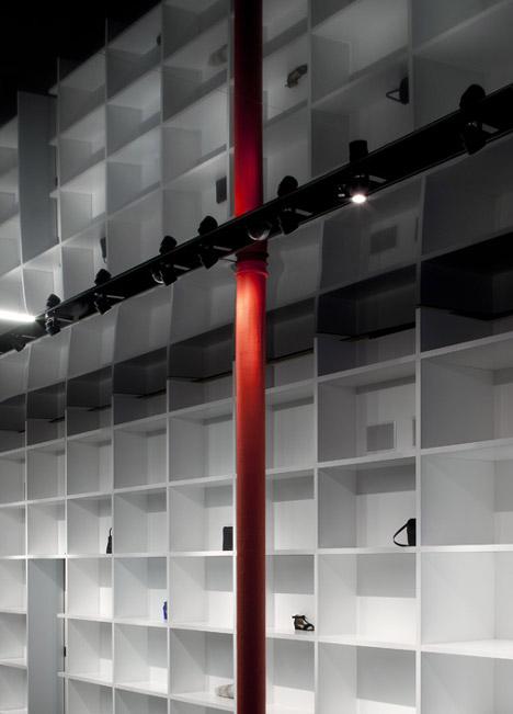 Cahier d'Exercices boutique by Saucier + Perrotte Architectes