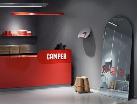 Camper Store Malmo - The Shoe Testing Facility by Note Design Studio
