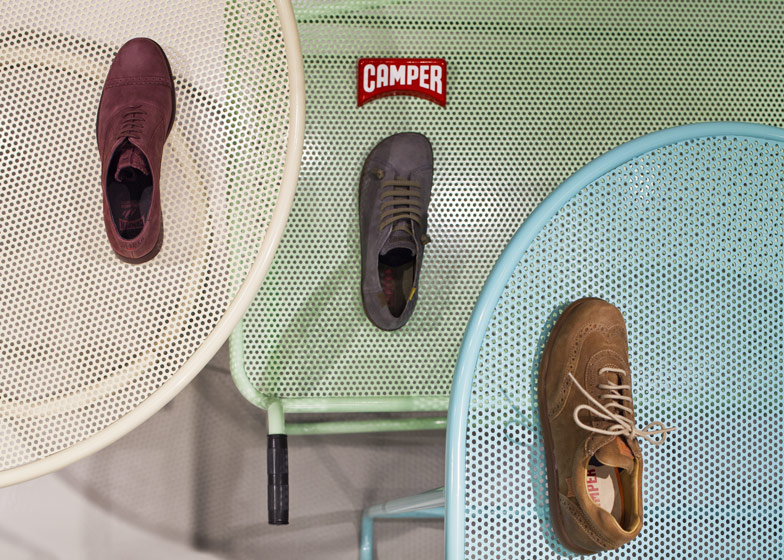 Camper Store Malmo - The Shoe Testing Facility by Note Design Studio