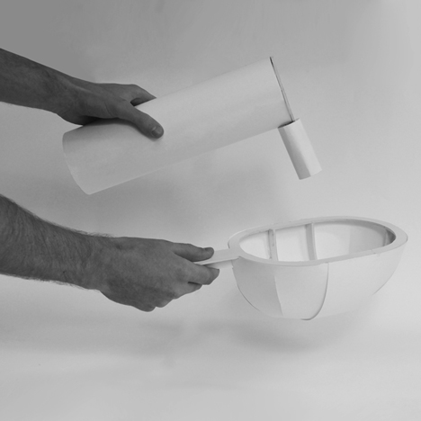 Container lamp by Benjamin Hubert for Ligne Roset