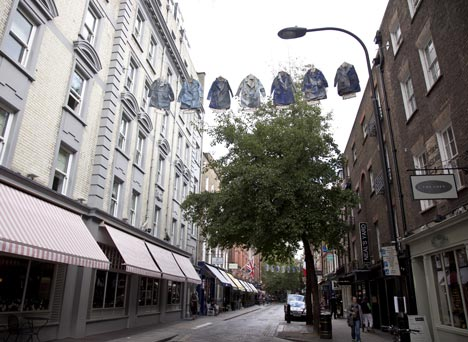 Faye Toogood at Seven Designers for Seven Dials