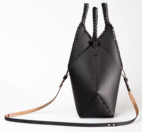 Finger Trap handbags by James Piatt