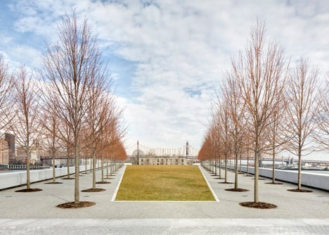 Four Freedoms Park by Louis Kahn
