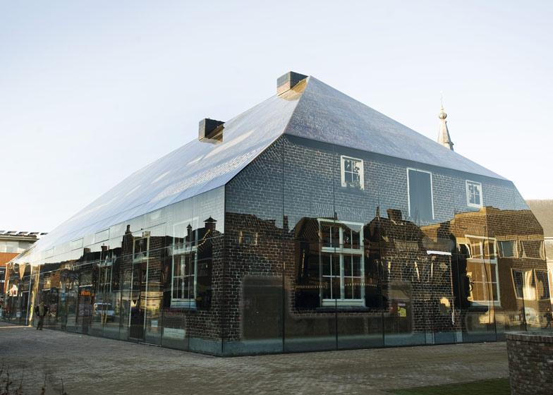 Glass farm by mvrdv for Farm house netherlands