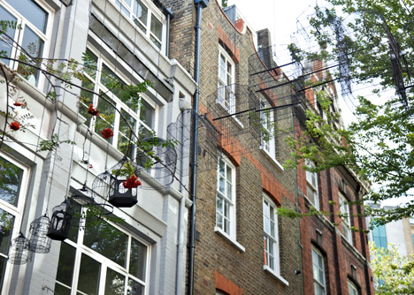 """""""I brought bird cages back to the Seven Dials area"""" - Dominic Wilcox"""
