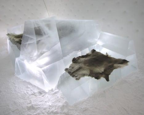 Iceberg by Wouter Biegelaar at Icehotel