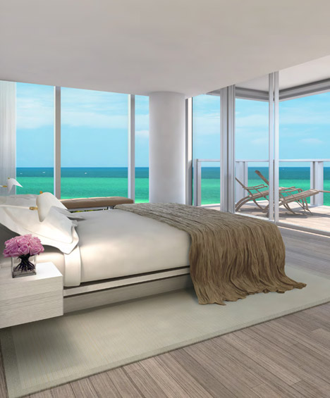 John Pawson designs Miami Beach apartments