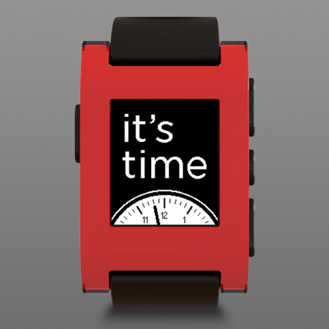 Kickstarter record-breaking Pebble smartwatch goes into production