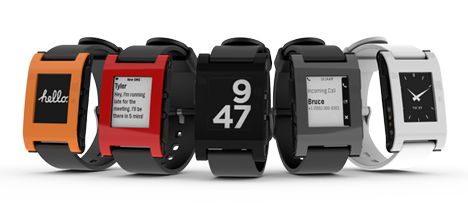 Kickstarter record-breaking Pebble goes into production