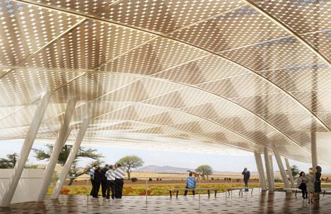 Konza Techno City Exhibition Platform by SHoP Architects