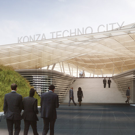 Konza Techno City Exhibition Platform by SHoP Architects
