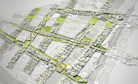 Konza Techno City masterplan by SHoP Architects