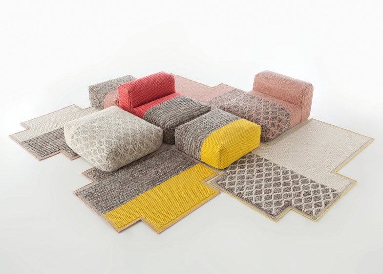 Visioni: Abstract Rugs by Patricia Urquiola for cc-tapis ...