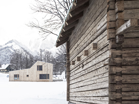 Medical practice in Ramsau by Hammerschmid Pachl Seebacher Architekten