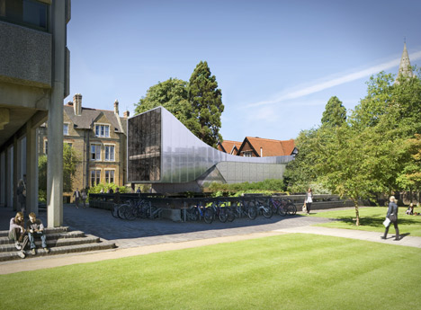 Middle East Centre at St Antony's College, Oxford, by Zaha Hadid