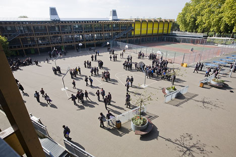 Mossbourne Community Academy by Rogers Stirk Harbour + Partners