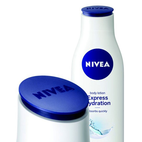Nivea packaging by Yves Béhar and fuseproject