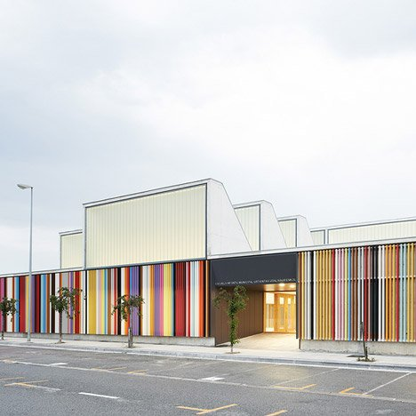 Nursery School in Berriozar by Javier Larraz,<br /> Iñigo Beguiristain and Iñaki Bergera