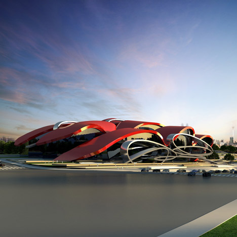 Oasis Exhibition Centre by Marques&Jordy