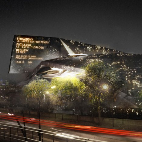 Jean Nouvel's Paris concert hall spared the axe