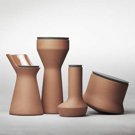 Pots by Benjamin Hubert<br /> for Menu