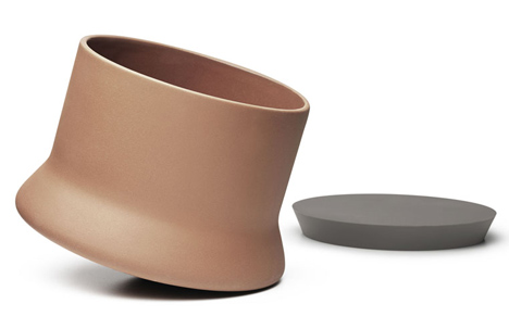 Pots by Benjamin Hubert and Menu