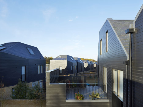 South Chase housing by Alison Brooks Architects