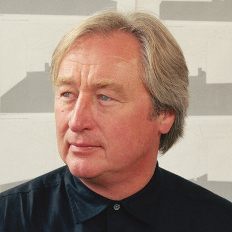 Steven Holl, portrait by Mark Heitoff