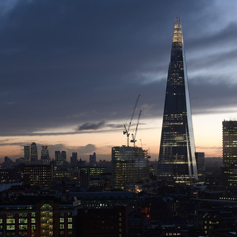 news and interviews about the shard dezeen londons shard tower opens with empty floors flat rents 468x468