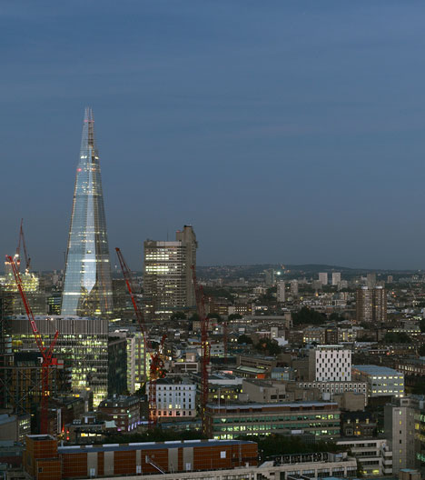 The Shard by Renzo Piano photographed by Nick Guttridge