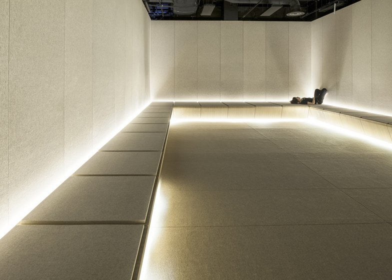 31121ea23c39 The Silence Room at Selfridges by Alex Cochrane Architects