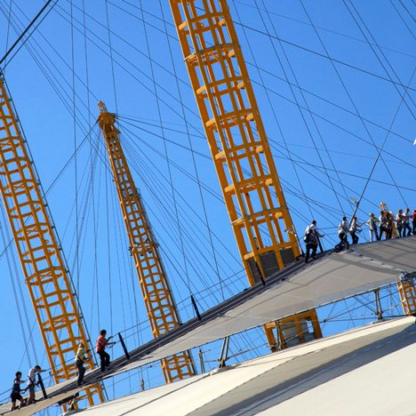 Up at the O2 by Rogers Stirk Harbour + Partners and Bblur Architecture