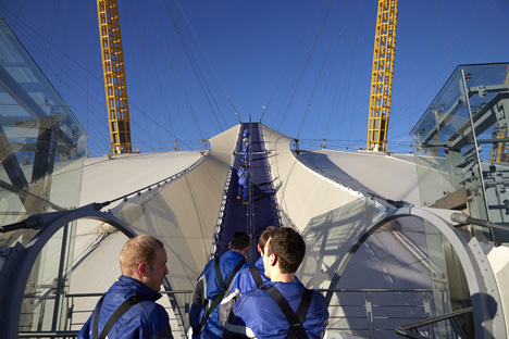 Up at the O2 by Rogers Stirk Harbour + Partners