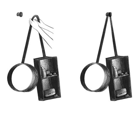 Vanity Shelf by Outofstock for Ligne Roset