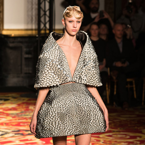 3D-printed dress from Iris van Herpen's Voltage collection