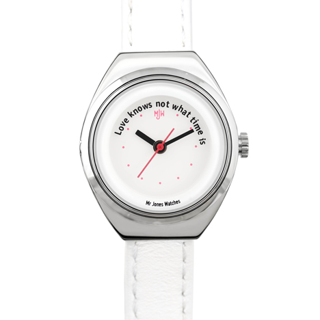 Love know not what by Mr Jones Watches at Dezeen Watch Store