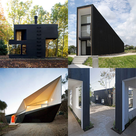 Dezeen archive: black houses