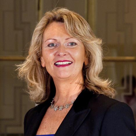RIBA president Angela Brady