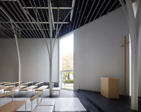 Forest Chapel by Hironaka Ogawa and Associates